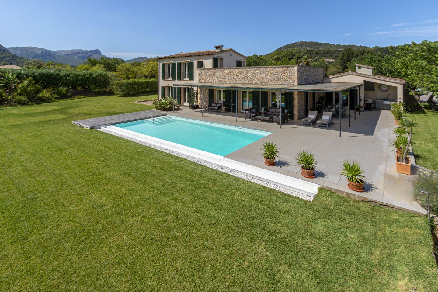 4 Bed Countryside House for sale in POLLENSA 0